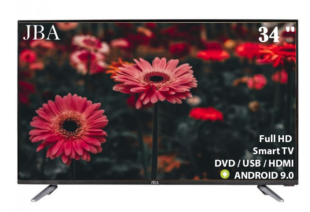 "Телевизор JBA 34"" Smart-Tv Android 9.0 FullHD/Android 9.0/ГАРАНТИЯ!"