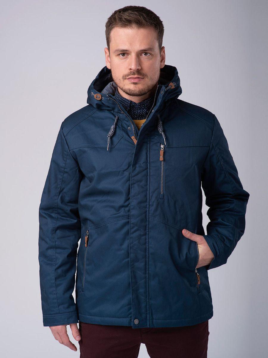Синяя зимняя мужская куртка Volcano J-Walker M06037-600