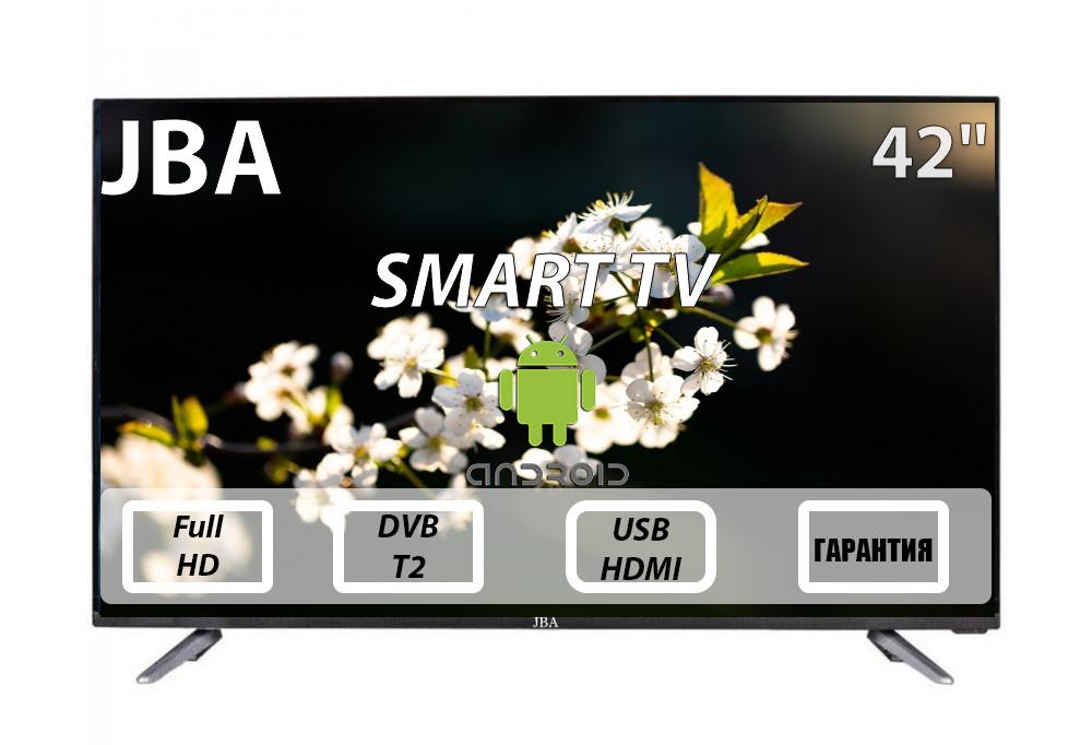 """Телевизор JBA 42"""" I Android 7.0/Smart TV/DVB/T2/FullHD/USB"""