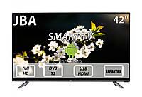 """Телевизор JBA 42"""" I Android 7.0/Smart TV/DVB/T2/FullHD/USB, фото 1"""