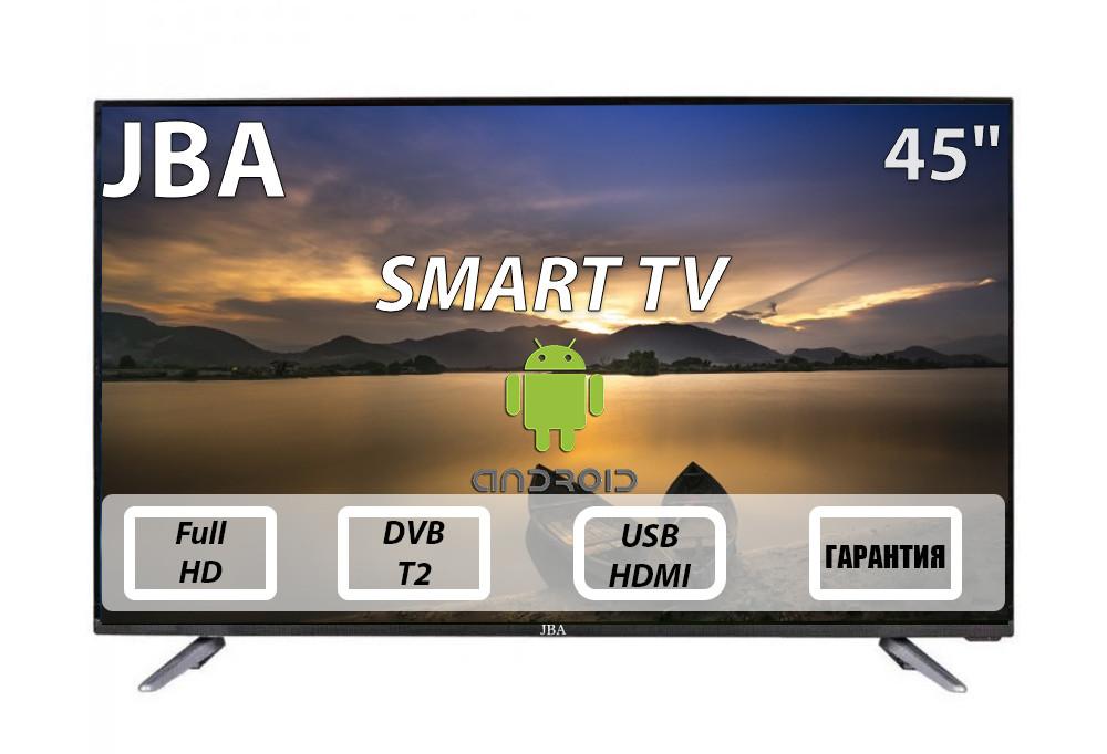"Телевизор JBA 45"" Smart-Tv Android 7.0 FullHD/DVB-T2/USB"