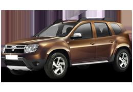 Дефлектор на капот (Мухобойки) для Dacia (Дачия) Duster 1 2009-2018