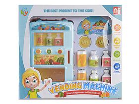 Детский игровой набор Автомат с газировкой | Набор автомат, монетки, бутылочки