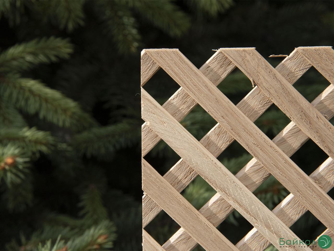 Дерев'яна декоративна решітка — 3R (Вільха, Бук, Клен, Ясень, Дуб)