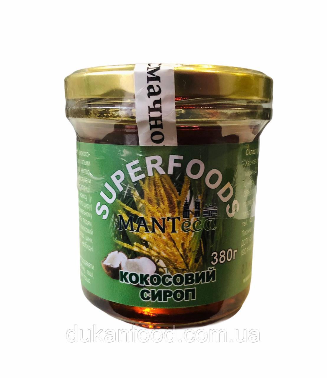 Сироп Кокосовый Manteca, 380 г