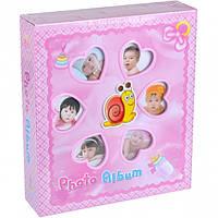 Фотоальбом детский 6258 (Розовый),