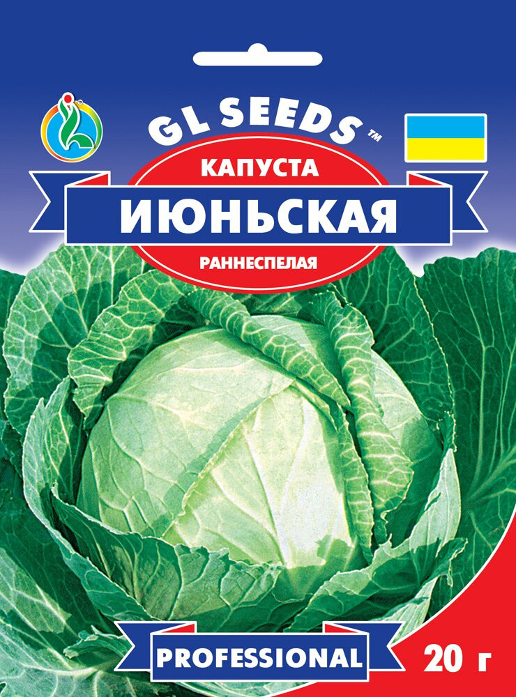 Семена Капусты Июньская (20г), Professional, TM GL Seeds