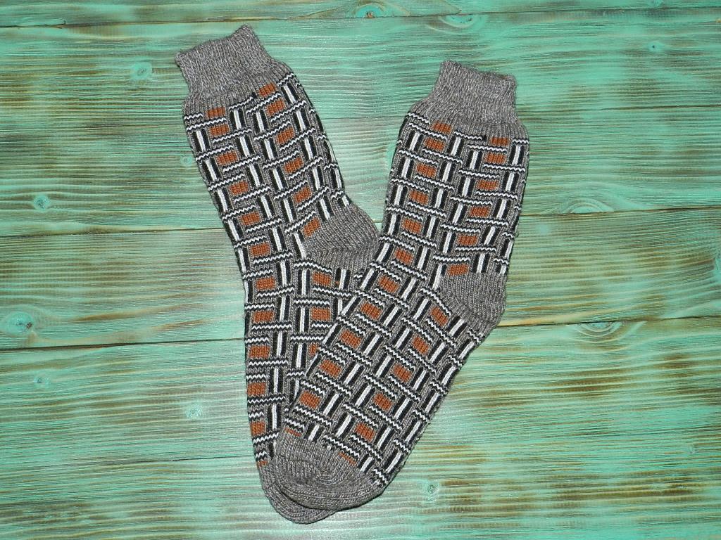 Носки из ангорской шерсти 29 см