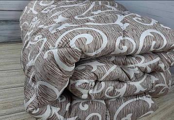 Одеяло холлофайбер Constancy коричневое, 180*220см