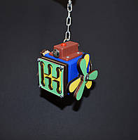 Бизикуб 5*5 развивающий по методеке Монтессори бізікуб  бизикубик синий, фото 1