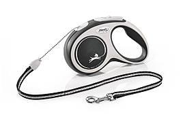 Flexi Comfort S трос 5 м до 12 кг повідець-рулетка для собак