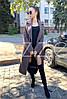 Актуальное демисезонное пальто миди классического кроя, фото 3