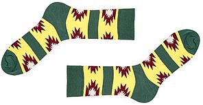 Носки Sammy Icon Gaspar 36-40 Green/Yellow, фото 2