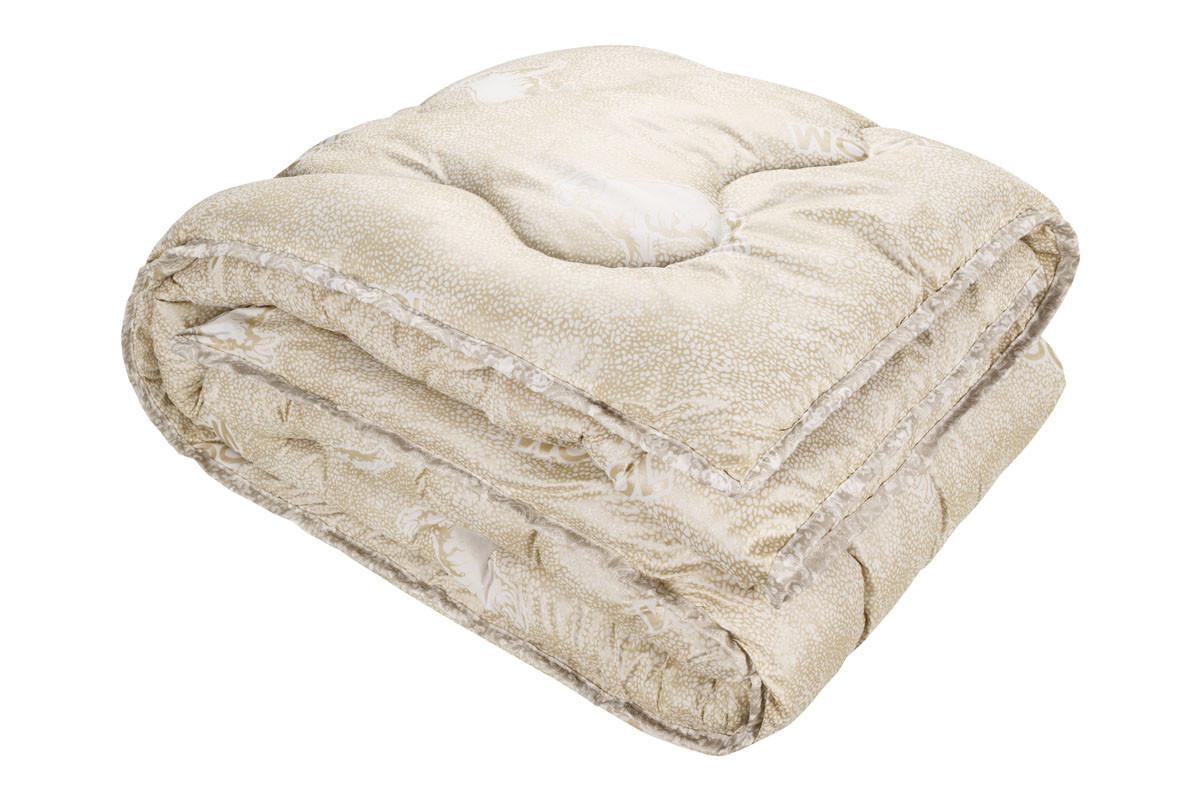 Одеяло Чарівний сон шерстяное в микрофибре 145х210 см (213779)
