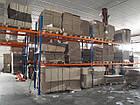 Фронтальный стеллаж Н4500хL2700х1100 мм(пол.+3 уровня по 1700 кг на уровень), стеллаж для паллет, фото 5
