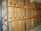 Фронтальный стеллаж Н4500хL2700х1100 мм(пол.+3 уровня по 1700 кг на уровень), стеллаж для паллет, фото 6