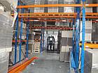Паллетный стеллаж приставной H3500хL2700х1100 мм(пол.+2 уровня по 2300 кг на уровень), хранение на паллетах, фото 7