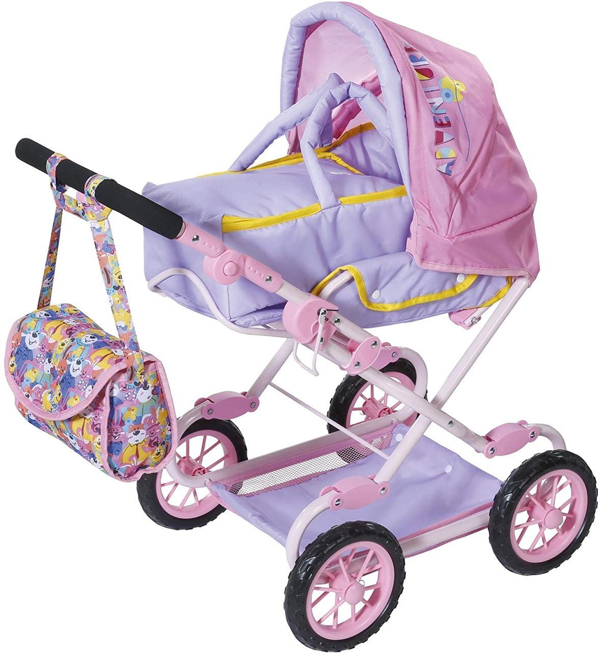 Коляска куклы Беби Борн Baby Born делюкс Zapf Creation 828649
