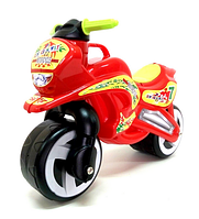 Мотоцикл музыкальный беговел каталка толокар орион.Детский толокар.Каталка толокар мотоцикл.
