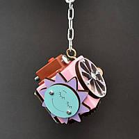 Бизикуб 5*5 развивающий по методеке Монтессори бізікуб  бизикубик розовый, фото 1