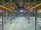 Стеллаж паллетный приставной H4000хL1800х1100 мм(пол.+2 уровня по 2400 кг на уровень), для хранения паллет, фото 6