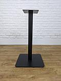 Металлические ножки для стола UNO опора в кафетерий, бар, ресторан со скругленными углами, фото 2
