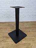 Металлические ножки для стола UNO опора в кафетерий, бар, ресторан со скругленными углами, фото 6