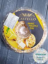 Крем-сир Castello з ананасами & ромом та горіхом