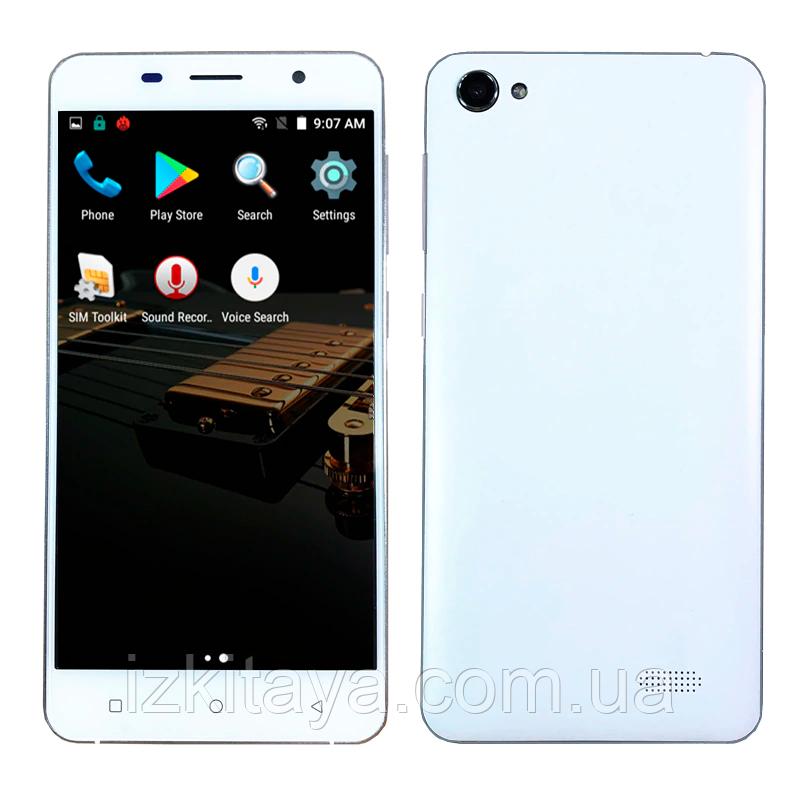 Смартфон H-Mobile 4G white 4 ядра 2/16 Гб + стартовий пакет Sweet TV у подарунок