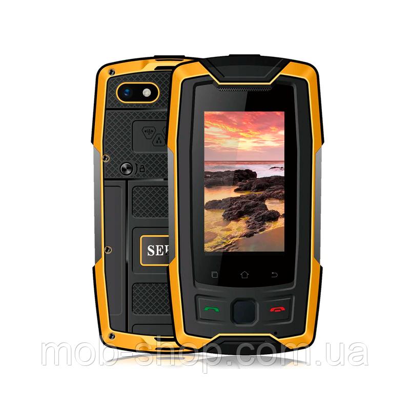 Смартфон Servo X7 Plus orange IP68 NFC 2/16 Гб