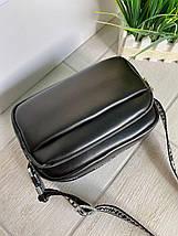 Жіноча сумка крос-боді екокожа Mainstreаm чорна СМС77, фото 3