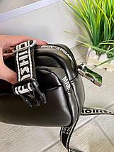 Жіноча сумка крос-боді екокожа Mainstreаm чорна СМС77, фото 2