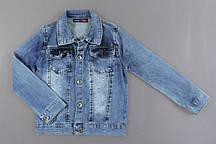 {есть:110,116} Джинсовая курточка для девочек ,  Артикул: N7188 [110]