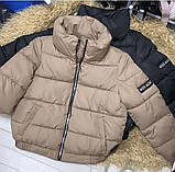 Весенняя куртка черная голубая молочная желтая розовая кофейная фиолетовая изумрудная 42 44 46, фото 7