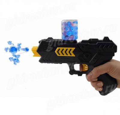 Оружие на гелевых шариках