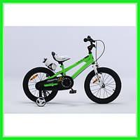 Детский велосипед Royal Baby Freestyle RB16B-6 Зеленый 110-135 см