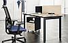 Стол компьютерный c лючком NICE Enrandnepr, фото 2