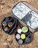 Рыбацкая вместительная термосумка для дипов, атрактантов, бойлов, водонепроницаемая, до 23 литров, фото 4