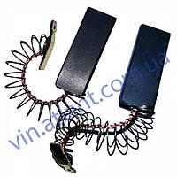 Щетки угольные для стиральной машины Bosch 5*12,5*35 клеенные, провод по центру с пружинкой 154740
