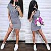 Платье короткое летнее с капюшоном и карманами, фото 6