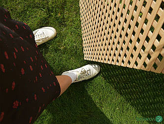 Деревянная декоративная решетка — 5R (Ольха, Бук, Клен, Ясень, Дуб)