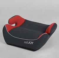 Бустер автомобильный на вес ребенка 15-36 кг JOY 30448 группа 2/3 Красный