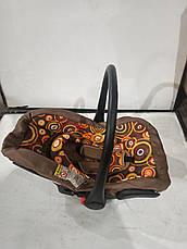 Б/у Многофункциональное авто-кресло-переноска в коричневом цвете, неполная комплектация., фото 2