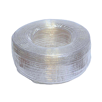 Трубка ПВХ пищевая Plasmir 6х1мм бухта 100м, фото 1