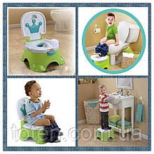 """Музыкальный детский горшок """"Королевский"""" Baby Potty 025/025G (68011)"""