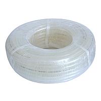 Трубка ПВХ армированная пищевая Plasmir 16х3мм бухта 50м