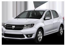 Дефлектор на капот (Мухобойки) для Dacia (Дачия) Logan Sedan 2 2012-2016+