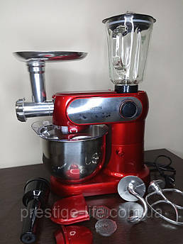 Кухонный комбайн Crownberg CB3404 3в1 ( Мясорубка, блендер и тестомес) на 2200 Вт.
