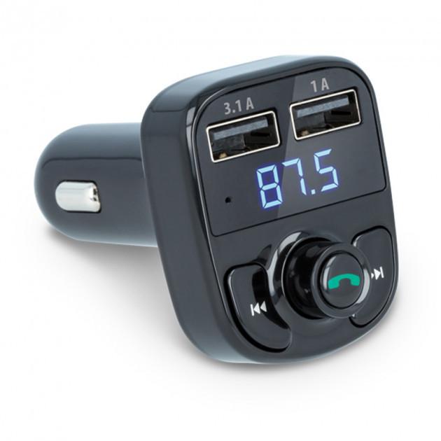 FM-трансмиттер Onever X8 Black Bluetooth