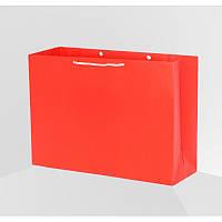 Пакет подарочный 50х35х15 см бумажный под большие подарки (возможно нанесение лого)